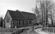 Barcombe, St Mary's Church c.1955