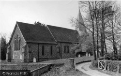 Barcombe, St Mary's Church c.1955