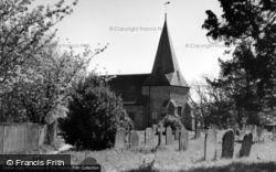 Barcombe, St Mary's Church c.1960