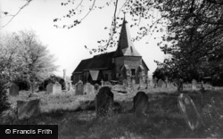 Barcombe, St Mary's Church c.1960
