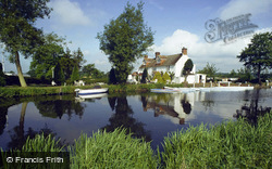 The Anchor Inn And River Ouse 1980, Barcombe