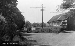 Barcombe, The Forge c.1950