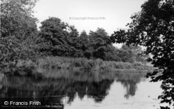 Barcombe, The River Ouse c.1955
