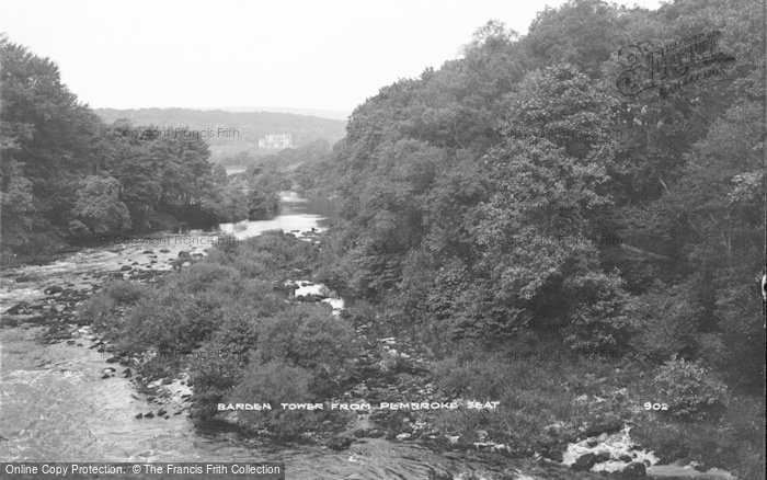 Photo of Barden, Barden Tower From Pembroke Seat c.1910