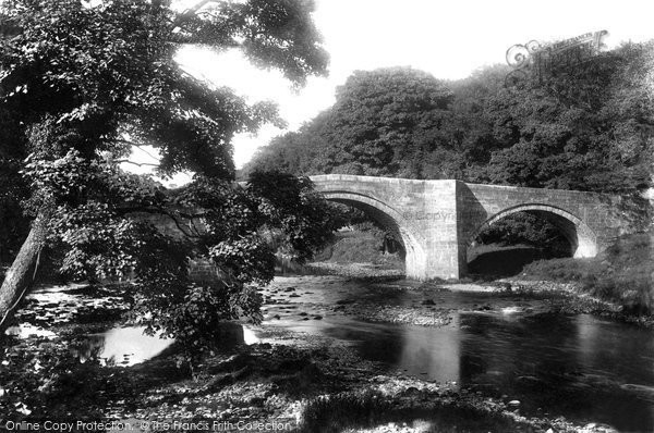 Photo of Barden, Bridge 1906