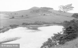 Bardon Mill, Crag Lough North Of Roman Wall c.1960