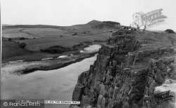 Bardon Mill, Crag Lough On The Roman Wall c.1960