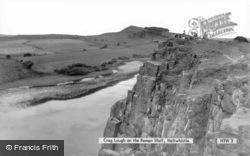Crag Lough On The Roman Wall c.1960, Bardon Mill