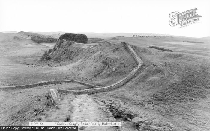 Photo of Bardon Mill, Cuddy's Crag, Hadrians Wall c.1960