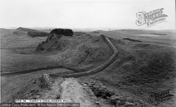 Photo of Bardon Mill, Cuddy's Crag, Hadrians Wall c.1960