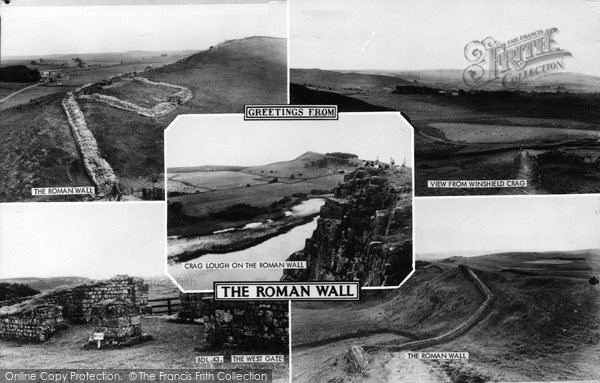 Photo of Bardon Mill, Greetings From The Roman Wall c.1950