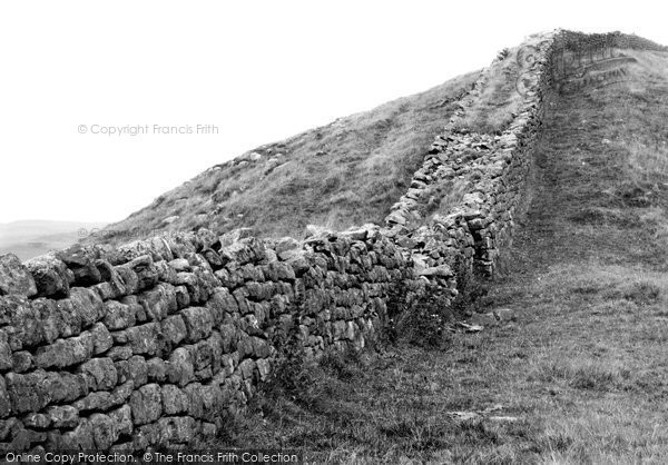 Photo of Bardon Mill, Roman Wall, Crag Lough 1924