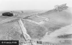 Bardon Mill, The Roman Wall c.1960