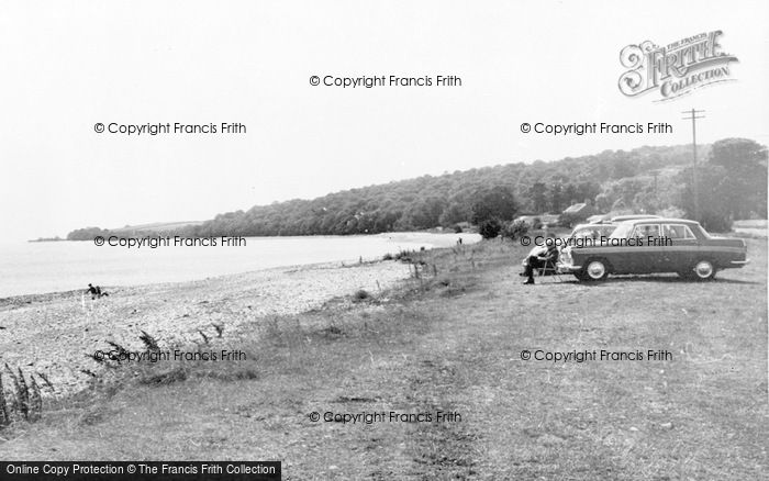 Photo of Bardsea, Seafront And Sea Wood c.1965