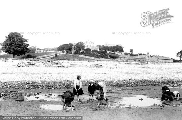 Photo of Bardsea, The Beach 1895