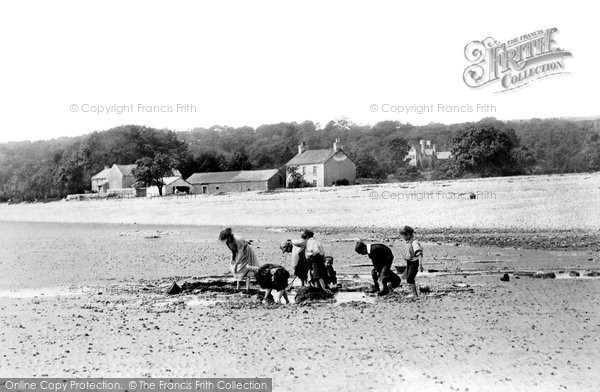 Photo of Bardsea, The Beach 1895
