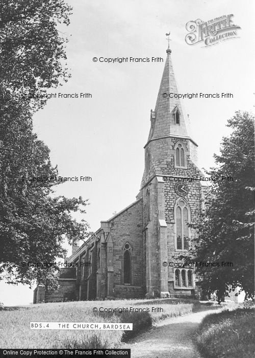 Photo of Bardsea, The Church c.1950