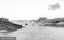Bardsey Island, Boat Landing c.1955