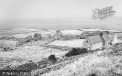 Bardsey Island, Chapel And Monastery c.1955