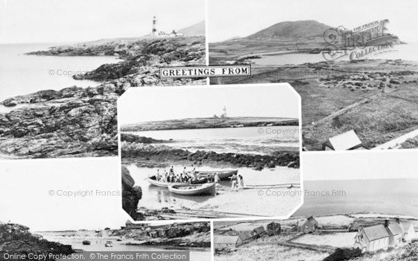 Photo of Bardsey Island, Composite c.1955