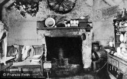 Bardsey Island, Cottage Of Jane Williams, The Kitchen c.1910