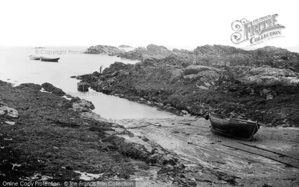 Photo of Bardsey Island, Creek c.1930