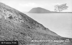 Bardsey Island, From St Mary's Well c.1930