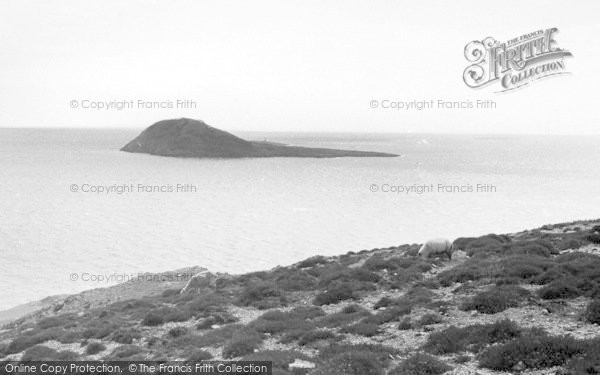 Photo of Bardsey Island, From The Mainland c.1955