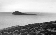 Bardsey Island, From The Mainland c.1955