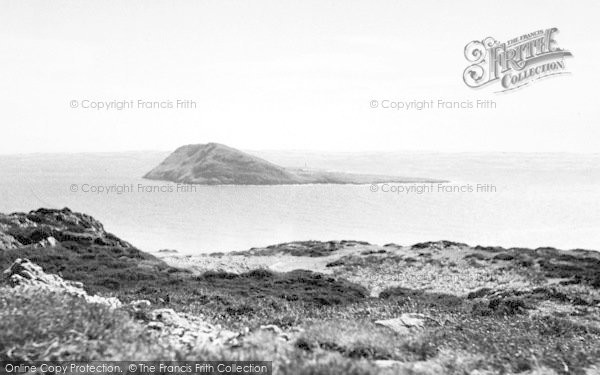 Photo of Bardsey Island, From The Mainland c.1965