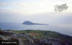 From The Mainland c.1985, Bardsey Island