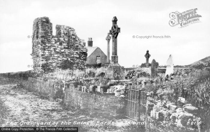 Photo of Bardsey Island, Graveyard Of The Saints c.1930