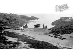 Bardsey Island, Landing Place c.1930