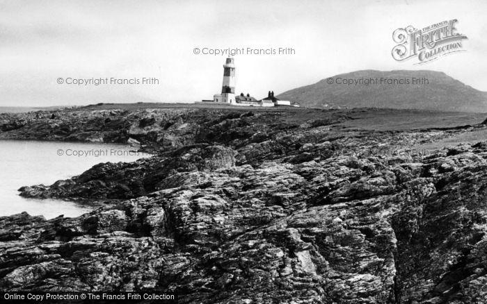 Photo of Bardsey Island, Lighthouse c.1960
