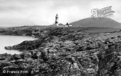 Bardsey Island, Lighthouse c.1960