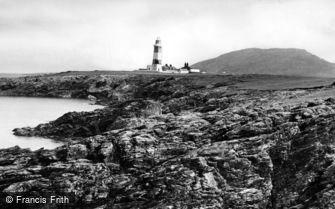 Bardsey Island, Lighthouse c1960