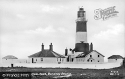 Bardsey Island, Lighthouse From East c.1930