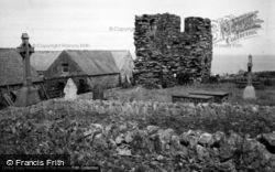Bardsey Island, The Abbey 1961