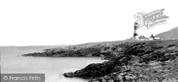Bardsey Island, The Lighthouse c.1955