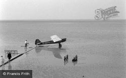 Plane On Sands c.1955, Bare