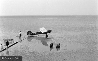 Bare, Plane on Sands c1955
