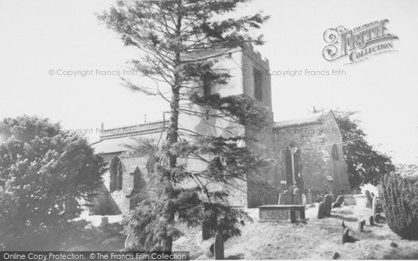 Photo of Barford St Michael, St Michael's Church c.1960