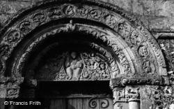 Church, Carving 1954, Barfrestone