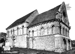 Barfrestone, Church Of St Nicholas c.1866