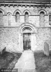 Barfrestone, Church Of St Nicholas c.1955
