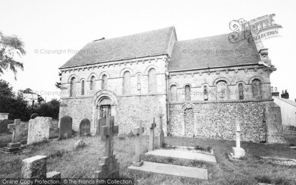 Photo of Barfrestone, Church Of St Nicholas c.1955