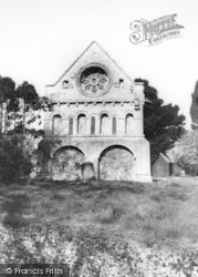 Barfrestone, Church Of St Nicholas c.1960