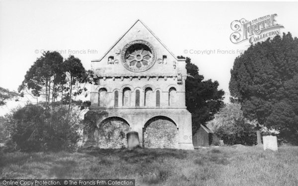 Photo of Barfrestone, Church Of St Nicholas, The East Wing c.1960