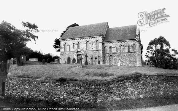 Barfrestone, The Church Of St Nicholas c.1955