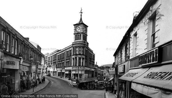Bargoed, Clock Tower c.1960